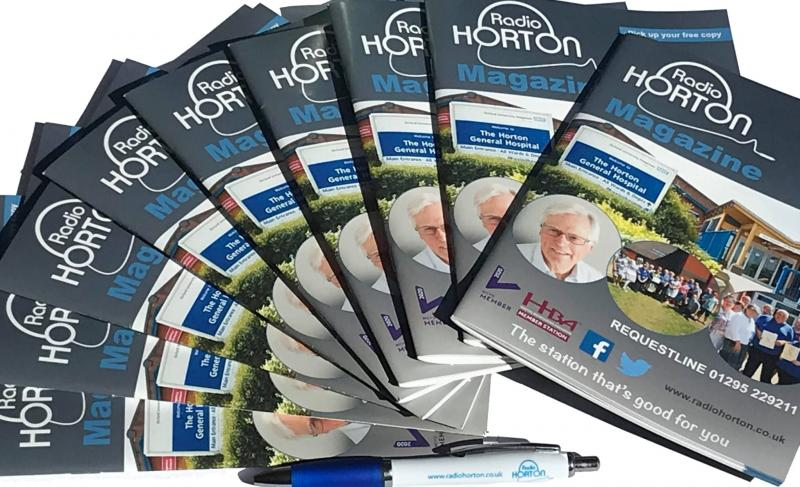 Radio Horton's new magazines