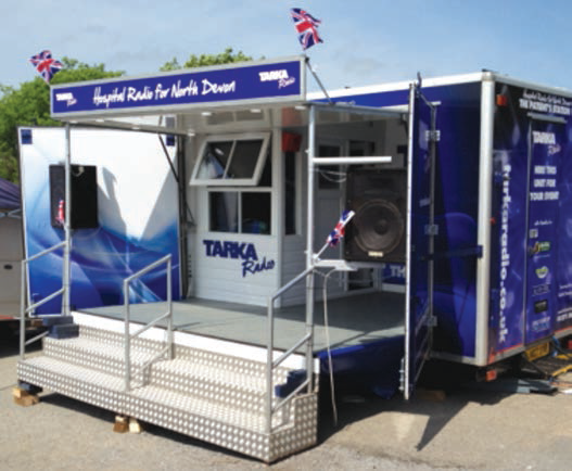 Tarka Radio OB Unit Front View